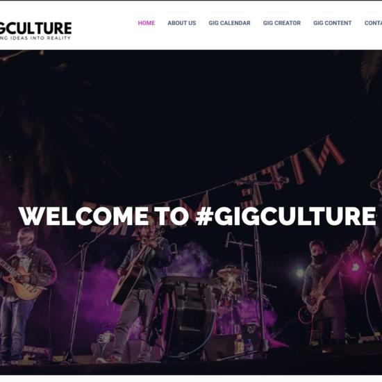 GigCulture Website